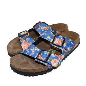 Papillio by Birkenstock Blue Floral Sandals